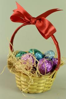 buy Chocolate Egg Basket by Chocolate Junction