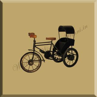 buy Iron cycle Rickshaw ShowPiece