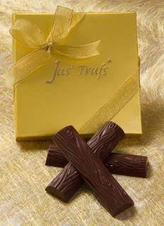 buy CHOCOLATE ALMOND LOGS