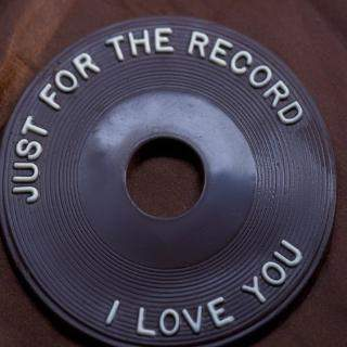buy JUST FOR THE RECORD I LOVE YOU