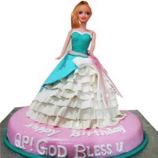 buy Doll ( Chocolate) Cake