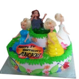 buy Playing Dolls ( Choco vanilla) Cake