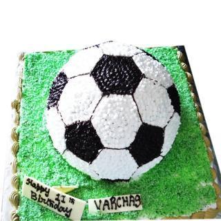 buy Football (Black Forest) Cake