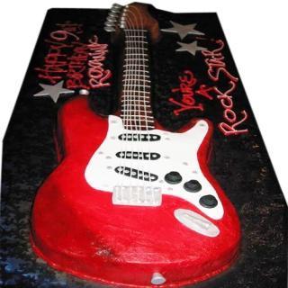 buy Guitar ( Chocolate) Cake