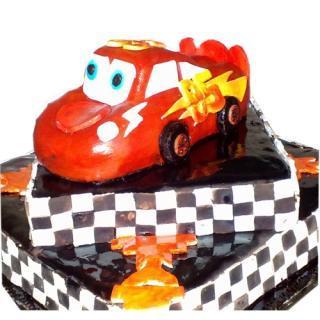 buy Lighting Car ( Vanilla) Cake