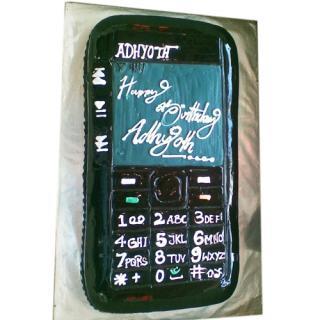 buy Mobile ( Double Chocolate) Cake