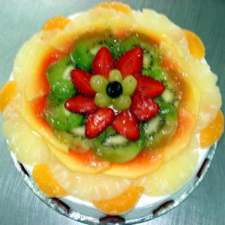 buy Fresh Fruit Gateaux Cake