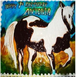 buy Bold Horse ( Chocolate) Cake