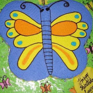 buy Butterfly ( VANILLA) Cake