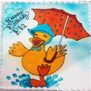 buy Quack Rain ( Pine Apple) Cake