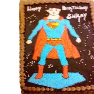 buy Superman ( Chocolate) Cake