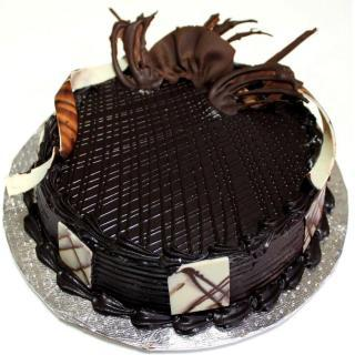 buy Dark Royale Cake  (Eggless)