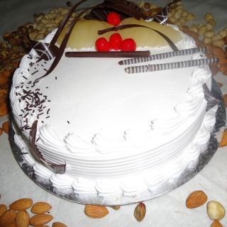 buy Pear Gateaux Cake (Eggless)