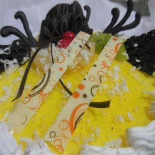 buy Pina Colada Cake  (Eggless)