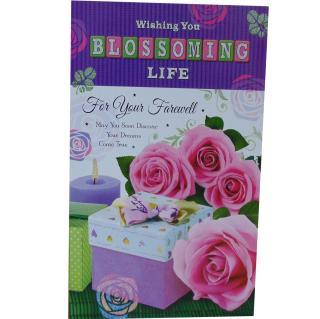 buy Wishing You a Blossoming Life On Your farewell