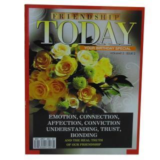 buy Frienship Today Magzine Greeting Card