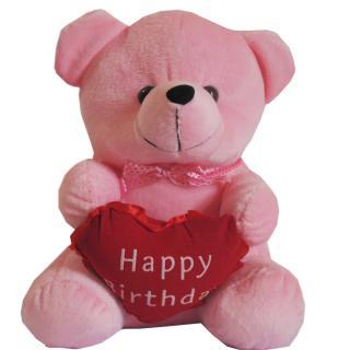 buy Happy Birthday Pink Teddy(9 INCHES)