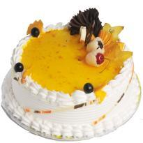 buy Chef Bakers Lychee Mango Cake online in Hyderabad