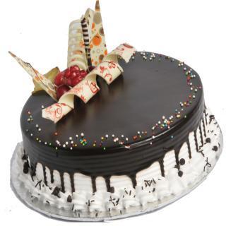 buy Choco vanilla  (Eggless) cake