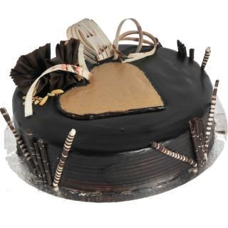 buy Hazelnut Chocolate Cake  (Eggless)
