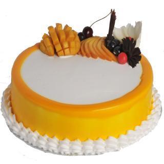 buy Mango Maharaja Cake  (Eggless)