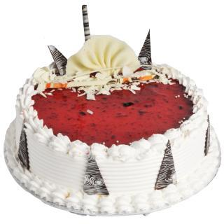 buy Strawberry Cake  (Eggless)