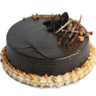 buy Toffeed Chocolate Cake  (Eggless)