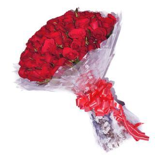 buy 50 Red Rose Bouquet