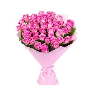 buy 50 Pink Rose Bouquet