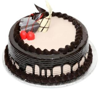buy Chocolate Cream Gateax Cake  (Eggless)
