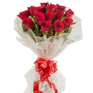 buy Red 35 Roses Bunch