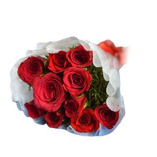 buy 12 Red Rose Bunch