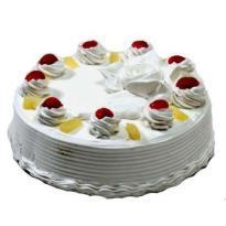 buy Pineapple Eggless Cake
