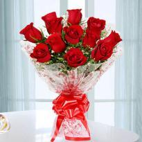 buy 14 Red Rose Bouquet