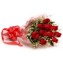 buy 18 Red Rose Bouquet