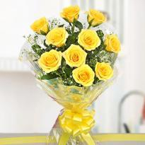 buy 30 Yellow Rose Bouquet