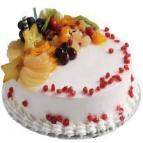 buy Fresh Fruit Eggless cake