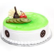 buy Kiwi layered Eggless Cake