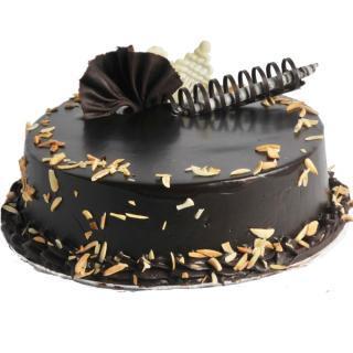buy Choco Almond Eggless cake