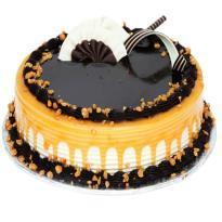 buy Caramel Chocolate Eggless Cake