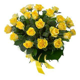 buy Jubilant Celebrations  A bunch of 20 Yellow Roses
