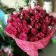 view White Roses N Mango Cake