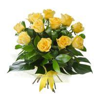 buy 20 yellow roses Bunch