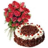Combo Cake and Flower