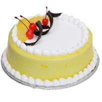 Midnight Pineapple Cake delivery in ahmedabad