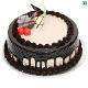 buy Chocolate Heart Shape Eggless Cake
