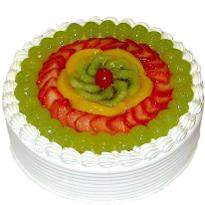 buy Fresh Fruit Eggless Cake