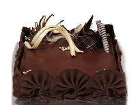 buy Rich Chocolate Truffle Eggless Cake