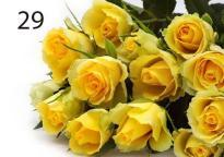 buy Elegant Yellow Roses Bunch