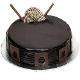 view Dark Royal Eggless Cake